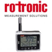 Rotronic CL11 CO2 Gas Measurement Data Logger Instrument (Benchtop)