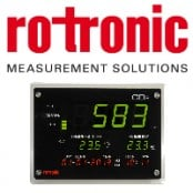Rotronic CO2 Gas Measurement Display – Indoor Air Quality (IAQ) Monitor