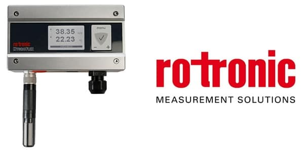 Rotronic Hygroflex5 HF5 Humidity & Temperature Measurement Transmitter
