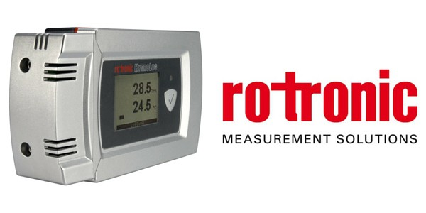 Rotronic Hygrlog HL-20 portable temperature and humidity logger