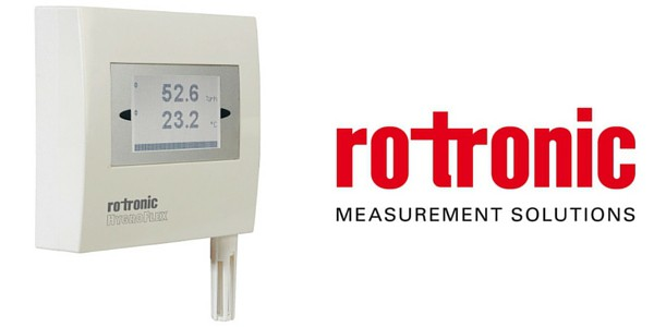 Rotronic Hygroflex3 HF3 Humidity & Temperature Measurement HVAC Transmitter