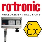 Rotronic Hygroflex5 HF5 EX ATEX & IECEx Hazardous Area Transmitter (Zone 1)
