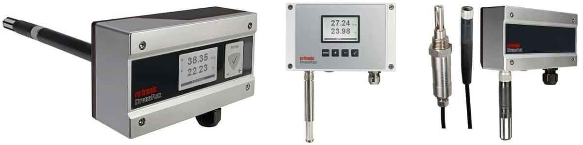 Rotronic Hygroflex5 HF5 transmitter