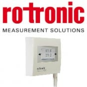Rotronic Hygroflex3 HF3 Humidity & Temperature Measurement HVAC Transmitter