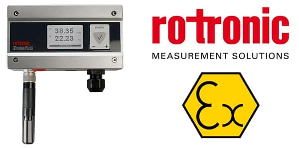Rotronic Hygroflex5 HF5 EX ATEX IECEx Transmitter