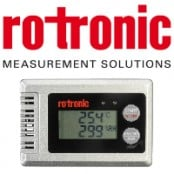 Rotronic Hygrolog HL-1D Humidity & Temperature Measurement Data Logger