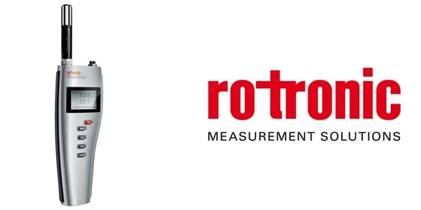 Rotronic Hygropalm HP-23A humidity and temperature measurement instrument