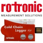 Rotronic TL-CC1 Temperature Measurement Logger (Cold Chain Application)