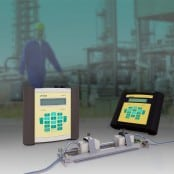 Hazardous Area Flowmeters for Gases (Portable) – FLEXIM FLUXUS Ultrasonic Flow Meters