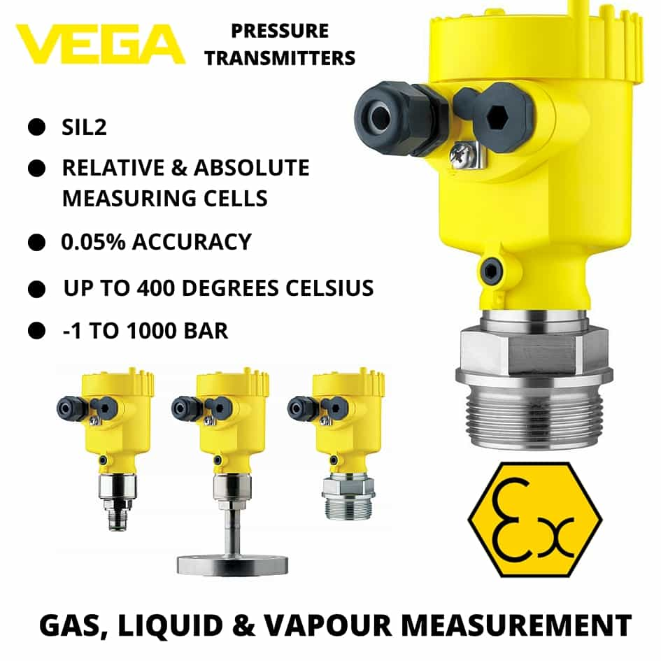 VEGA Pressure Measurement - VEGA VEGABAR