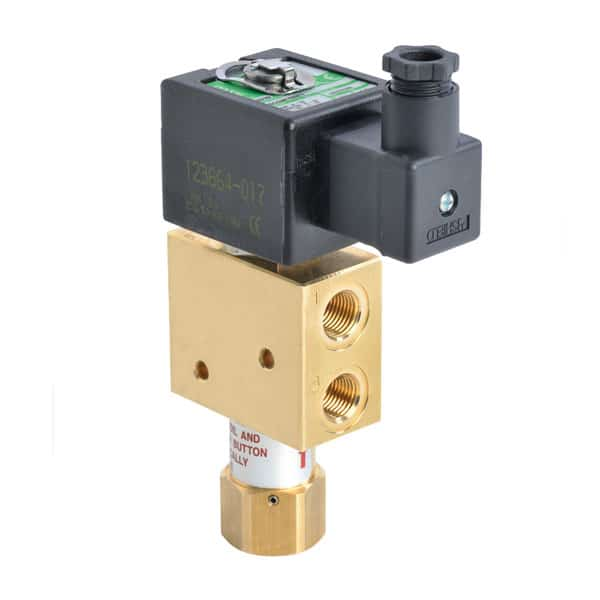ASCO 327 Manual Reset Solenoid Valves