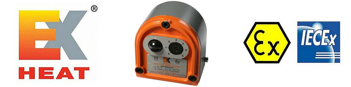 EXHEAT AFT Hazardous Area Thermostats - Flameproof Air & Process Sensing Thermostat (Zone 1 & Zone 2)