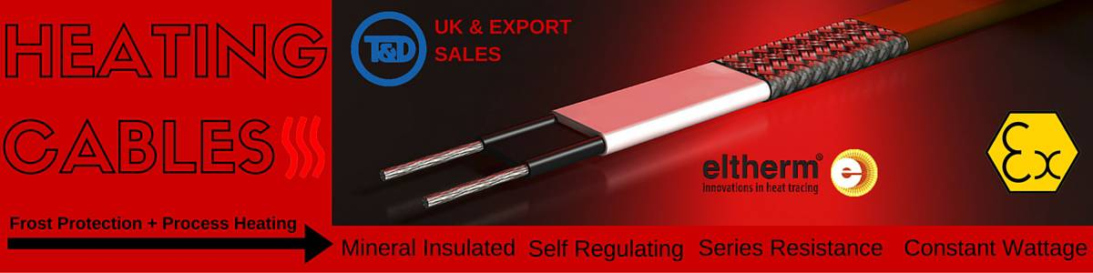 Heating Cables - Eltherm Mineral Insulated Self Regulating Series Resistance Constant Wattage