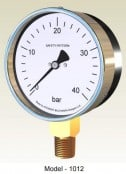 Pressure Gauge – Safety Pattern Aluminium Case Pressure Gauge