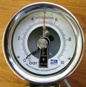 Pressure Gauges – Electric Contact Pressure Gauge