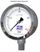 Pressure Gauges – Petro Chemical Stainless Steel Pressure Gauge