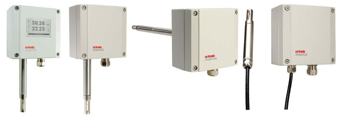 Rotronic Hygroflex7 HF7 transmitter