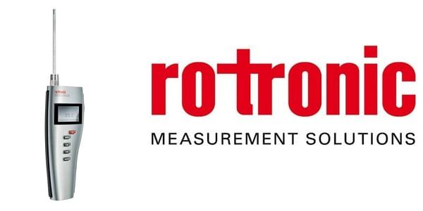 Rotronic ThermoPalm - TP22 Temperature Measurement Instrument (HVAC & BMS Inspections)
