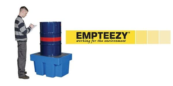 Drum Spill Pallet (Plastic) 205 Litres Drums - Empteezy PP1
