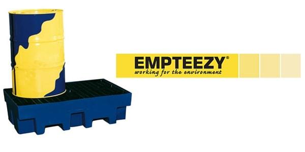 Drum Spill Pallet (Plastic) 205 Litres Drums - Empteezy PP2
