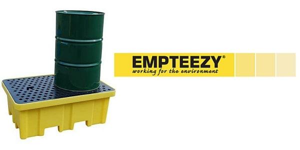 Drum Spill Pallet (Plastic) 205 Litres Drums - Empteezy PP2FWY