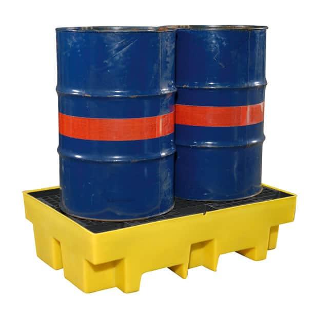Drum Spill Pallet (Plastic) 205 Litres Drums - Empteezy PP2Y