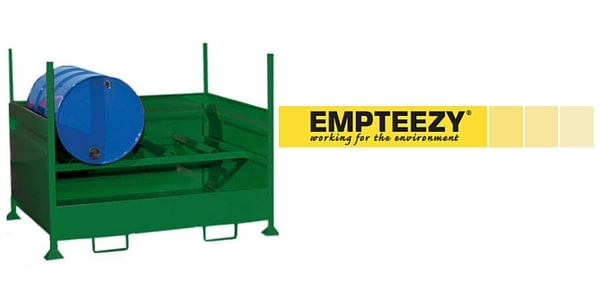 Drum Spill Pallet (Steel) 205 Litres Drums - Empteezy HD2