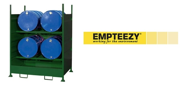 Drum Spill Pallet (Steel) 205 Litres Drums - Empteezy HD4