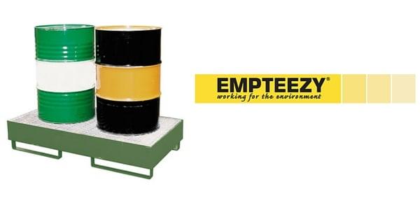 Drum Spill Pallet (Steel) 205 Litres Drums - Empteezy SP2