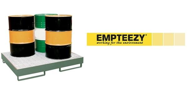 Drum Spill Pallet (Steel) 205 Litres Drums - Empteezy SP4