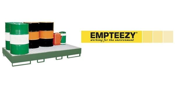 Drum Spill Pallet (Steel) 205 Litres Drums - Empteezy SP8