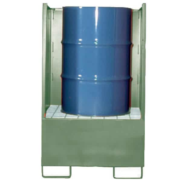 Drum Spill Pallet (Steel) 205 Litres Drums - Empteezy VD1