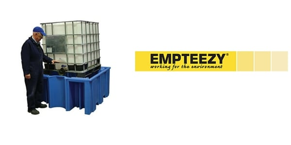 IBC Spill Pallet (Plastic) 1000 Litre Totes & Containers - Empteezy OPIBC