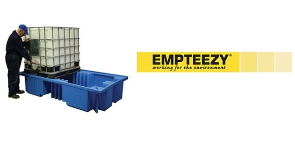 IBC Spill Pallet (Plastic) 1000 Litre Totes & Containers - Empteezy OPIBC2