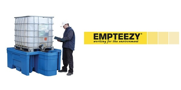 IBC Spill Pallet (Plastic) 1000 Litre Totes & Containers - Empteezy PIBCD