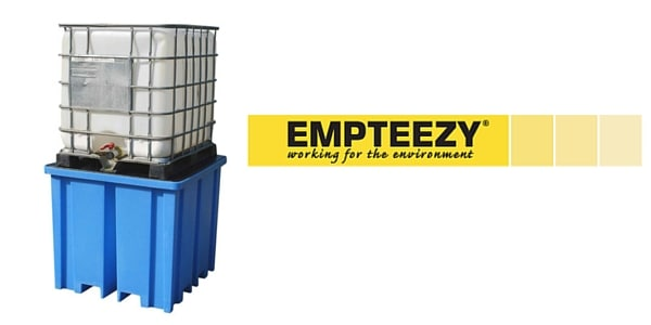 IBC Spill Pallet (Plastic) 1000 Litre Totes & Containers - Empteezy PIBCFW