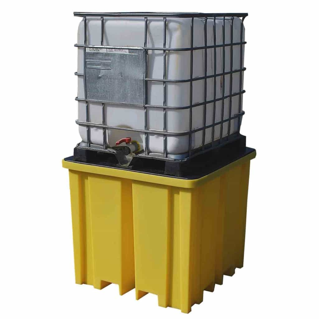 IBC Spill Pallet (Plastic) 1000 Litre Totes & Containers - Empteezy PIBCFWY - 1