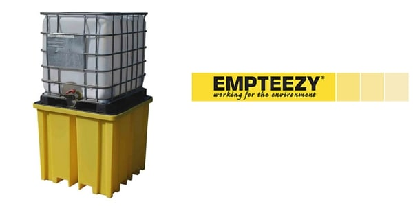 IBC Spill Pallet (Plastic) 1000 Litre Totes & Containers - Empteezy PIBCFWY