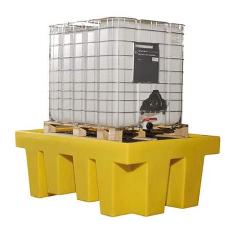 IBC Spill Pallet (Plastic) 1000 Litre Totes & Containers - Empteezy PIBCY
