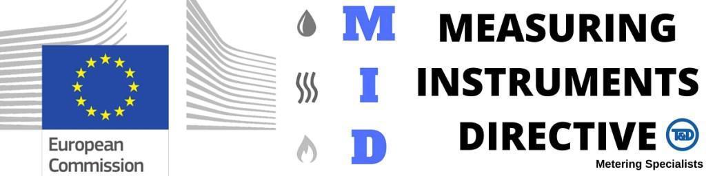 Meters - Measuring Instruments Directive MID Approved (Water Gas Heat Meters)