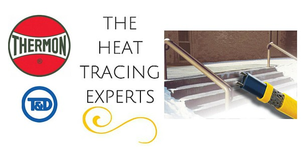 Ramp Heating - Snow & Ice Melting - Thermon KSR Heating Cables