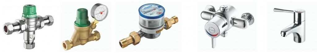 Thermostatic Mixing Valves, Taps & Showers - RWC
