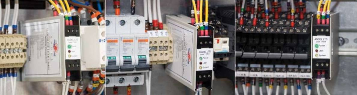 Andel Leak Detection For Gas, Water & Oil - Andel Floodline Leak 1 Mk II Panel