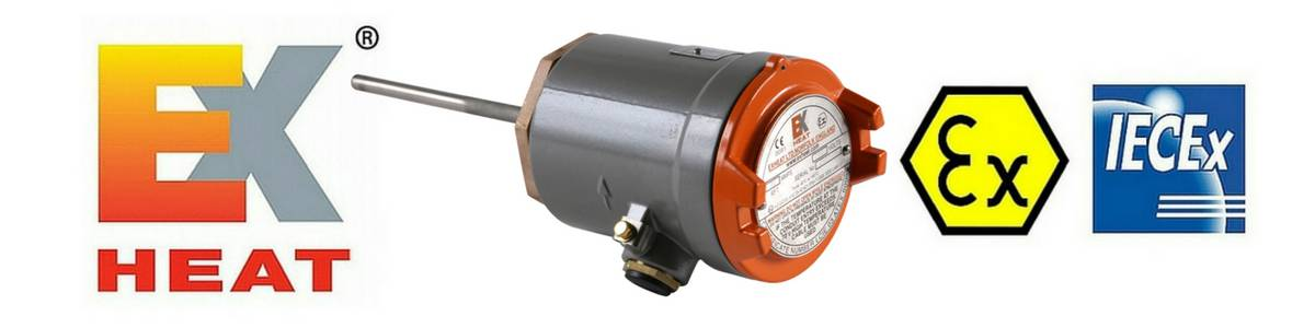EXHEAT RFT Hazardous Area Thermostats Flameproof Process Sensing Thermostat (Zone 1 & Zone 2)