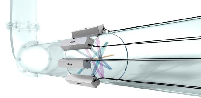 FLEXIM FLUXUS G706 Flowmeter - Ultrasonic Clamp-on Gas