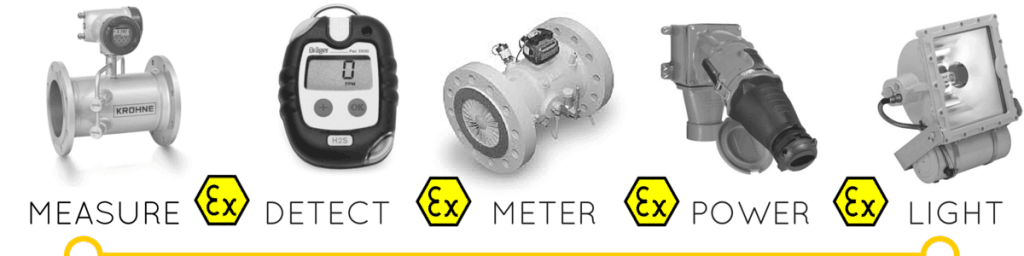 Hazardous Area Measurement Detection Metering Lighting - ATEX