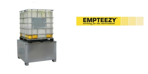 IBC Spill Pallet (Steel) 1000 Litre Totes & Containers - Empteezy BG1100U