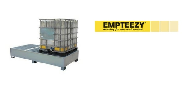 IBC Spill Pallet (Steel) 1000 Litre Totes & Containers - Empteezy BG9U