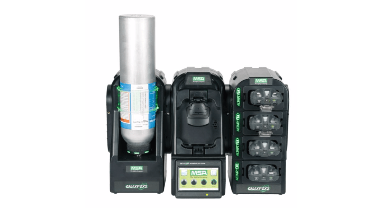 Msa Galaxy Gx2 Automated Test System Portable Gas Detection
