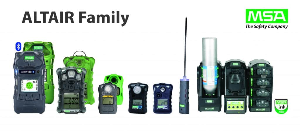 MSA Gas Detectors ALTAIR Portable Gas Detection